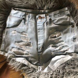 Vintage Wrangler Jean Shorts